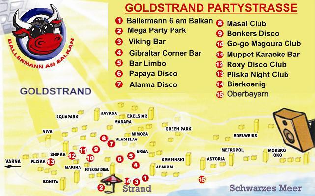 Bulgarien Goldstrand Hotel Karte.Goldstrand Bulgarien Partyurlaub 2019 In Bulgarien Am